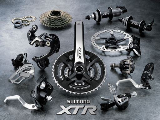 自転車の コンポ 自転車 ランク : Shimano XTR Group Set